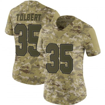 Women's Mike Tolbert Buffalo Bills Nike Limited 2018 Salute to Service Jersey - Camo