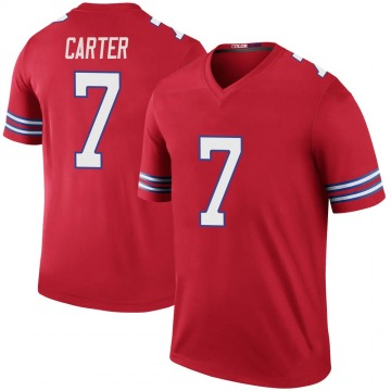 Youth Cory Carter Buffalo Bills Nike Legend Color Rush Jersey - Red