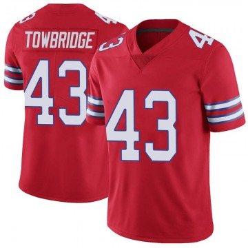 Youth Keith Towbridge Buffalo Bills Nike Limited Color Rush Vapor Untouchable Jersey - Red