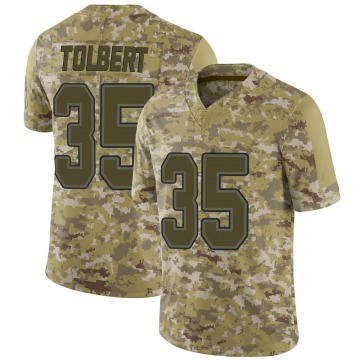 Youth Mike Tolbert Buffalo Bills Nike Limited 2018 Salute to Service Jersey - Camo